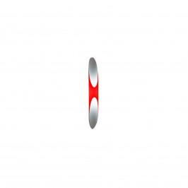 Kundalini Shakti - nástěnné světlo červené, 80 cm
