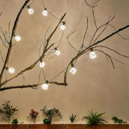 Venkovní LED světelný řetěz Kelja, 10zdrojů