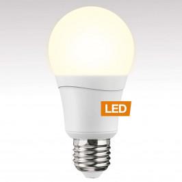 LED žárovka E27 10,5W teplá bílá, double-click