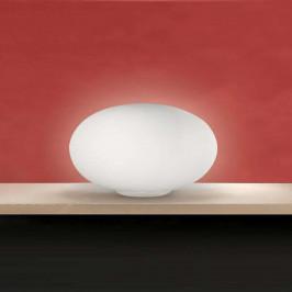 Stolní lampa Mercury ze skla, 50cm