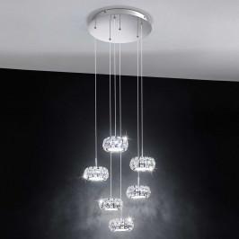 Závěsné LED světlo Corliano 6 žárovek