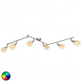 Tříramenné LED stropní svítidlo RGB Kaiden 6bod.