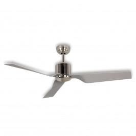 Moderní stropní ventilátor Eco Dynamix, chrom