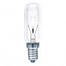 E14 40W trubková žárovka čirá, teplá bílá