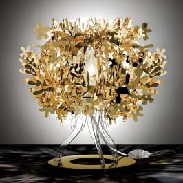 Slamp Fiorellina - zlatá stolní lampa