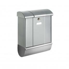 Poštovní schránka Olymp, novinová trubka, stříbrná