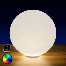 RGB LED koule Snowball venkovní s baterií, 60 cm