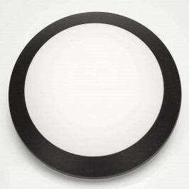 Černé nástěnné LED svítidlo Umberta 11W, teplé
