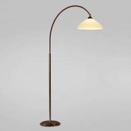 Obloukové svítidlo Samuele vyložení 120cm, krém