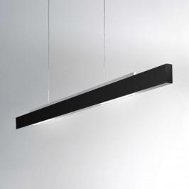 ICONE Tratto černé závěsné světlo LED dvoustranné