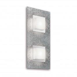 GROSSMANN Basic LED nástěnné světlo, 2zdr hliník