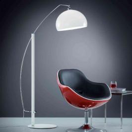 Helestra Doro – stojací lampa, akrylátové stínidlo