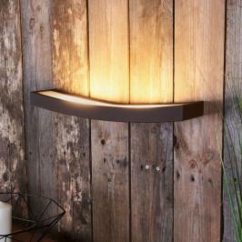 LED nástěnné světlo Dolce rezavé, šířka 50 cm