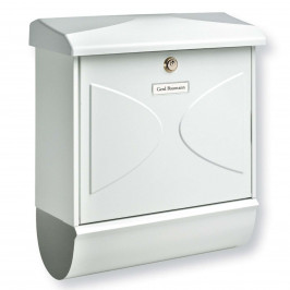 Poštovní schránka Futura, novinová trubka, bílá