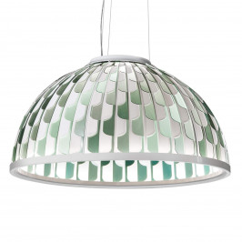 Slamp Dome LED závěsné světlo Ø 55 cm zelené