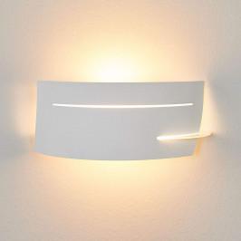 LED nástěnná svítilna Keyron, bílá barva