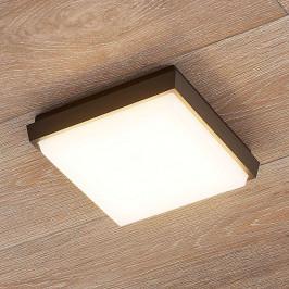 Čtvercové LED venkovní stropní světlo Amra