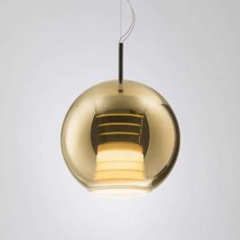 Fabbian Beluga Royal závěsné světlo LED zlaté 30cm