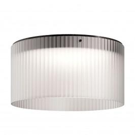 Kundalini Giass LED stropní svítidlo Ø 50 cm bílé