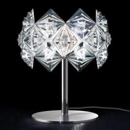 Stolní lampa Prisma s třpytivým stínidlem