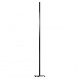 Černá stojací lampa LED Orix s ovládáním 180 cm