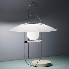 Fontana Arte Setareh - stolní lampa LED chrom-bílá