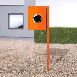 Stojanová poštovní schránka Letterman II oranžová
