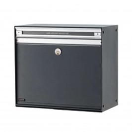 Prostorná poštovní schránka SC200, antracitová