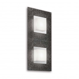 GROSSMANN Basic LED nástěnné světlo, 2zdr antracit