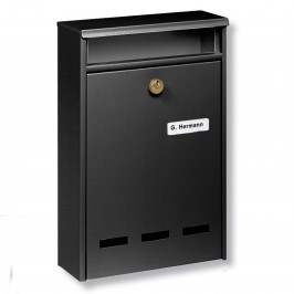 Standardní poštovní schránka WISMAR B5, černá