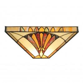 Amalia - nástěnné světlo Tiffany styl