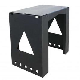 Univerzálně použitelný stojan 8002 schránky černý
