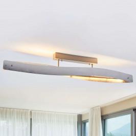 LED stropní svítidlo Lian stříbrné stmívací