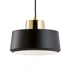 Moma - černé závěsné světlo z kovu