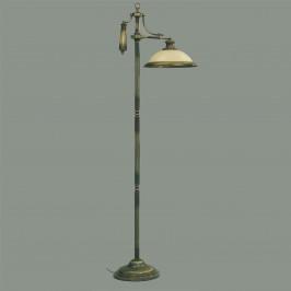Stojací lampa Valentina ve starožitném designu