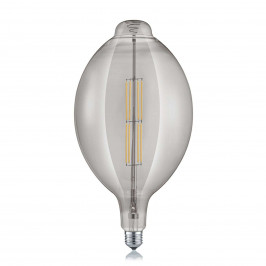 Trio Lighting LED žárovka E27 8W 2,700K kouřová dlouhý tvar