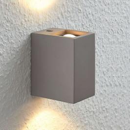 Nástěnné LED Cataleya beton Up&Down 7×12cm