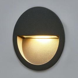Kulaté LED nástěnné vestavné světlo Loya
