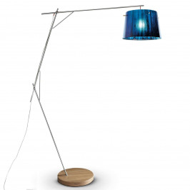 Slamp Woody - designová stojací lampa, modrá