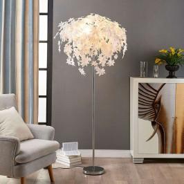 Stojací lampa Maple v dekoru listů