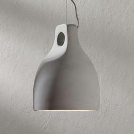 Betonové závěsné světlo Morton, Ø 24,5 cm