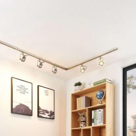 1fázový LED kolejnicový systém Arika, 6zdroj, nikl
