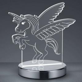 3D hologramová stolní lampa Karo s jednorožcem