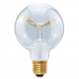 Segula E27 8W 922 LED Globe Curved Butterfly čirá G95