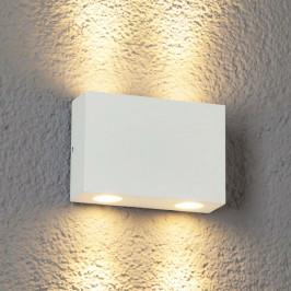 4bodové LED venkovní nástěnné svítidlo Henor bílé