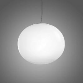 Bílé kulové závěsné světlo Aria