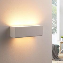 Jednoduchá sádrová nástěnná lampa Benno, G9 LED