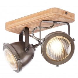 Carmen Wood - stropní světlo prům.styl 2 žár.