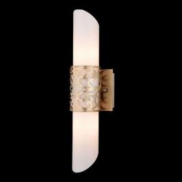 Trubkové skleněné nástěnné světlo Venera - zlaté