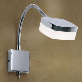 LED nástěnné světlo Narek s labutím krkem